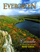 Cover of Fall 2004 Issue of Evergreen Magazine